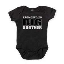 promoted to big bro Baby Bodysuit