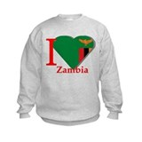 I love Zambia Sweatshirt
