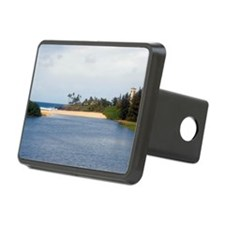 waimea beach park sands Hitch Cover
