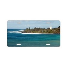 waimea beach park Aluminum License Plate