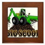 Unique Kid's truck Framed Tile