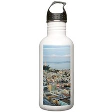 Telegraph Hill sunset Water Bottle