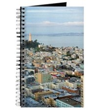 Telegraph Hill sunset Journal