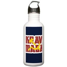 Krav Maga Russia Soviet Union Water Bottle