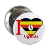 I love Uganda Button