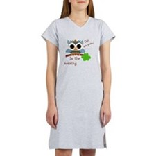 Owl See You In The Morning Women's Nightshirt
