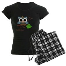 Owl See You In The Morning Pajamas