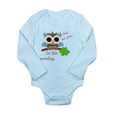 Owl See You In The Morning Body Suit