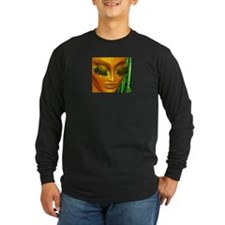 Zen Mother Nature Portrait and Bamboo T