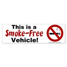 Bumper Sticker: This is a Smoke-Free Vehicle