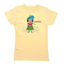Girl with Hat_Isabella Girl's Tee