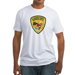 El Dorado County Sheriff Fitted T-Shirt