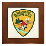 El Dorado County Sheriff Framed Tile