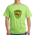 El Dorado County Sheriff Green T-Shirt