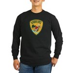 El Dorado County Sheriff Long Sleeve Dark T-Shirt