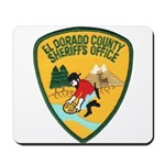 El Dorado County Sheriff Mousepad