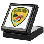 El Dorado County Sheriff Keepsake Box
