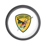 El Dorado County Sheriff Wall Clock