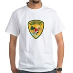 El Dorado County Sheriff White T-Shirt
