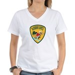 El Dorado County Sheriff Women's V-Neck T-Shirt