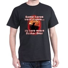Firefighter hero in bunker gear T-Shirt