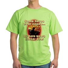 Firefighter hero in bunker gear T-Shirt