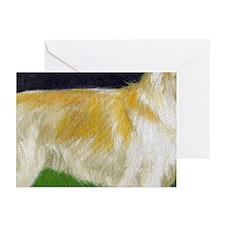 Hovawart Dog Portrait Greeting Cards