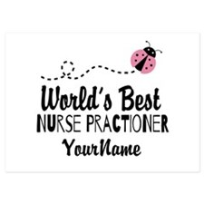 World's Best Nurse Practitioner Invitations