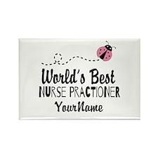 World's Best Nurse Prac Rectangle Magnet (10 pack)