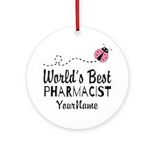 World's Best Pharmacist Ornament (Round)
