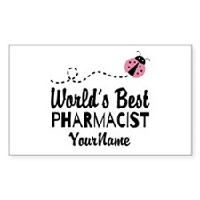 World's Best Pharmacist Stickers