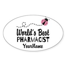 World's Best Pharmacist Decal
