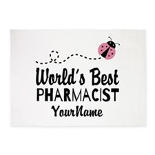 World's Best Pharmacist 5'x7'Area Rug