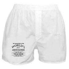 My Daughter Is The World's Most Aweso Boxer Shorts