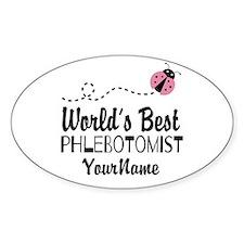 World's Best Phlebotomist Decal
