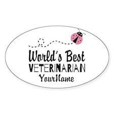 World's Best Veterinarian Decal