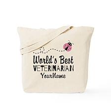 World's Best Veterinarian Tote Bag