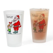 funny-christmas-jokes Drinking Glass