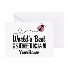 World's Best Esthetician Greeting Card