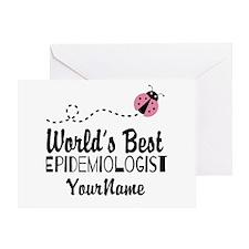 World's Best Epidemiologist Greeting Card
