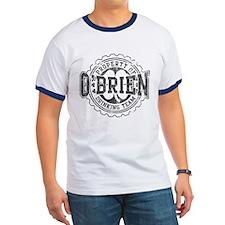 Obrien Irish Drinking Team Bottle Cap T-Shirt
