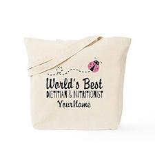 World's Best Dietitian Tote Bag