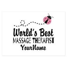 World's Best Massage Therapist Invitations