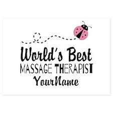 World's Best Massage Therapist Invitations