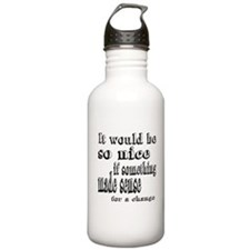 Alice Makes Sense Water Bottle