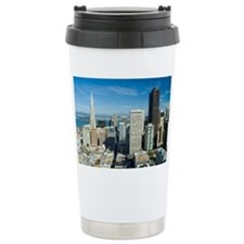sunny downtown san fran Travel Mug