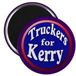 Truckers for Kerry Magnet (100 pack)