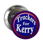 Truckers for Kerry Button