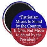 What Patriotism Means Magnet (10 pack)
