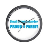 Moonster Parent Wall Clock